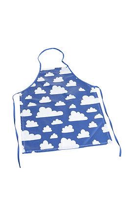 Farg & Form / סינר בישול לילדים כחול עם עננים