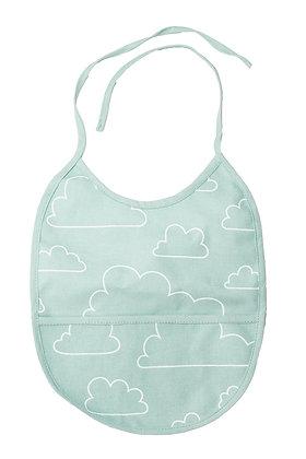 Farg & Form / סינר ירוק מנטה עננים