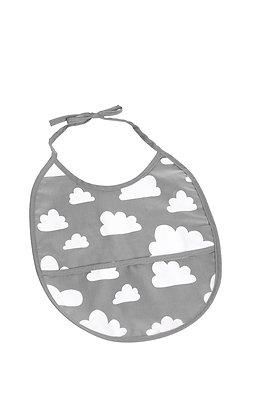 Farg & Form / סינר אפור עם עננים