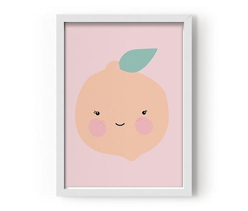 Eef Lillemor / פוסטר ״תפוז מסמיק״