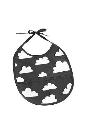 Farg & Form / סינר שחור עם עננים