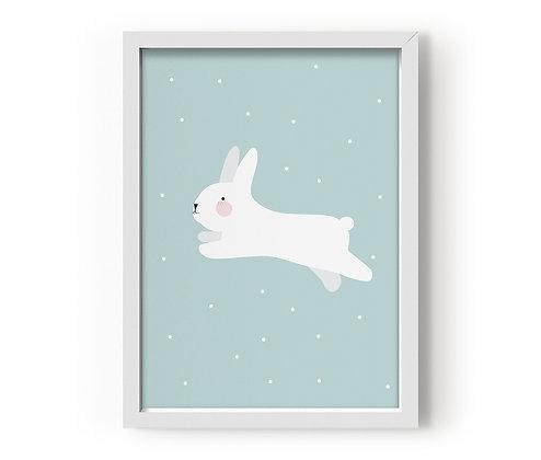 Eef Lillemor / פוסטר ״ארנבת מקפצת״