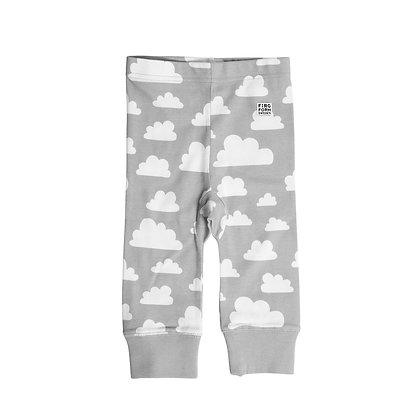 Farg & Form / מכנסיים אפורים עם עננים