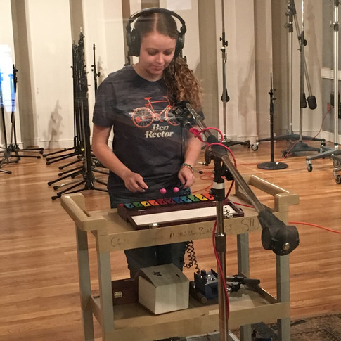 Glockenspeil can be one of the most fun instruments to add to a track. Here is Monica Sigler laying it down for a single of hers!