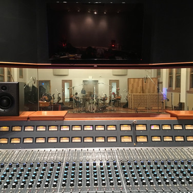 Oceanway Studio A is the most beautiful studio I have ever had the priviledge of working at. Here's a rhythm section tracking session I had there!