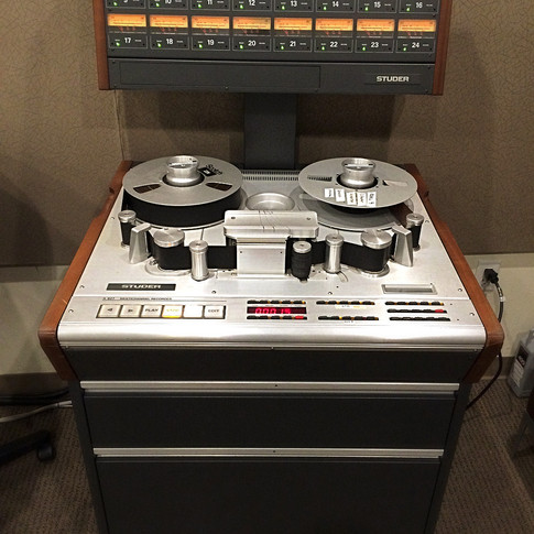 It's always fun to take the time machine back and record some music to tape!