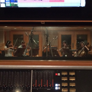 """Here is a string session I had in Oceanway Studio B. We were recording a cover of Sara Bareilles' """"Gravity"""" for the one and only Monica Sigler."""