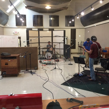 Here is a session I had in Music Row's oldest recording studio: The Quonset Hut. We were actually recording this all to a 24-track tape machine!