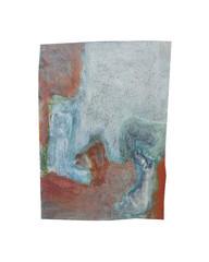 Holo(geo)biont no.4, 2020, watercolour on prepared paper, 15 x 10 cm (6 x 4 in)