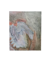 Holo(geo)biont no.10, 2020, watercolour on prepared paper, 15 x 10 cm (6 x 4 in)