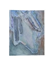 Holo(geo)biont no.8, 2020, watercolour on prepared paper, 15 x 10 cm (6 x 4 in)