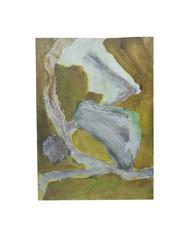 Holo(geo)biont no.11, 2020, watercolour on prepared paper, 15 x 10 cm (6 x 4 in)