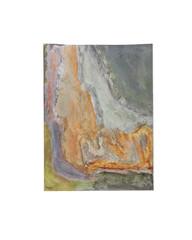 Holo(geo)biont no.18, 2020, watercolour on prepared paper, 15 x 10 cm (6 x 4 in)