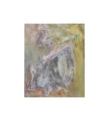 Holo(geo)biont no.2, 2020, watercolour on prepared paper, 15 x 10 cm (6 x 4 in)
