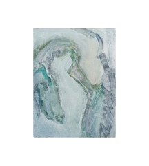 Holo(geo)biont no.1, 2020, watercolour on prepared paper, 15 x 10 cm (6 x 4 in)