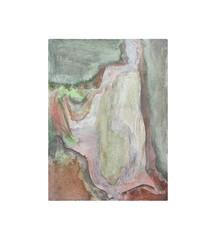 Holo(geo)biont no.3, 2020, watercolour on prepared paper, 15 x 10 cm (6 x 4 in)