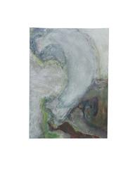 Holo(geo)biont no.16, 2020, watercolour on prepared paper, 15 x 10 cm (6 x 4 in)