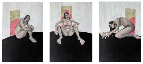 Study of a Woman (triptych)