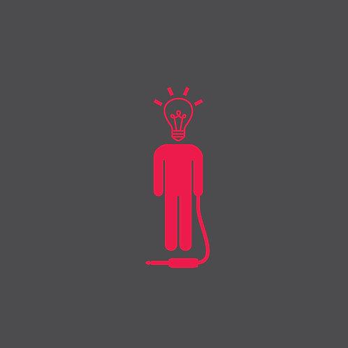 WisePeople Logo Shirt - Slate Gray