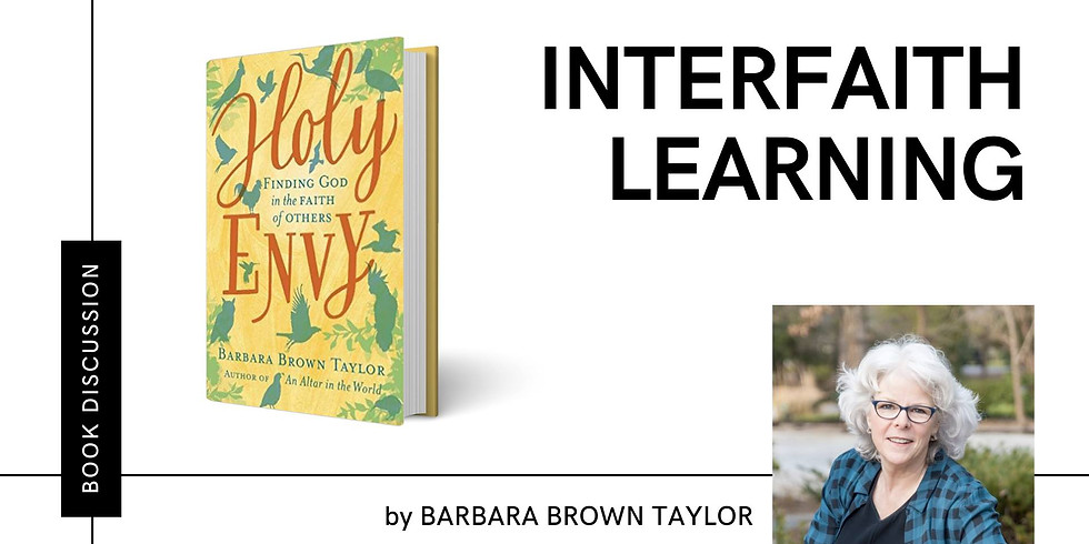 Book Group: Holy Envy