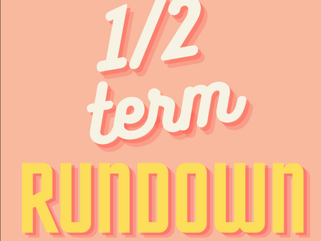 First Half Term 2020-21: Rundown