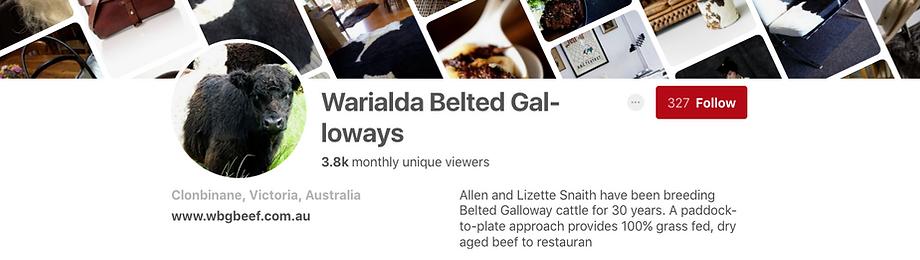 Warialda Belted Galloways Pinterst