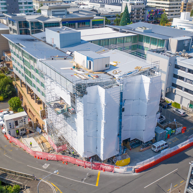 Building Project Aerial Photography