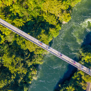 Cycleways Drone Aerial Photography