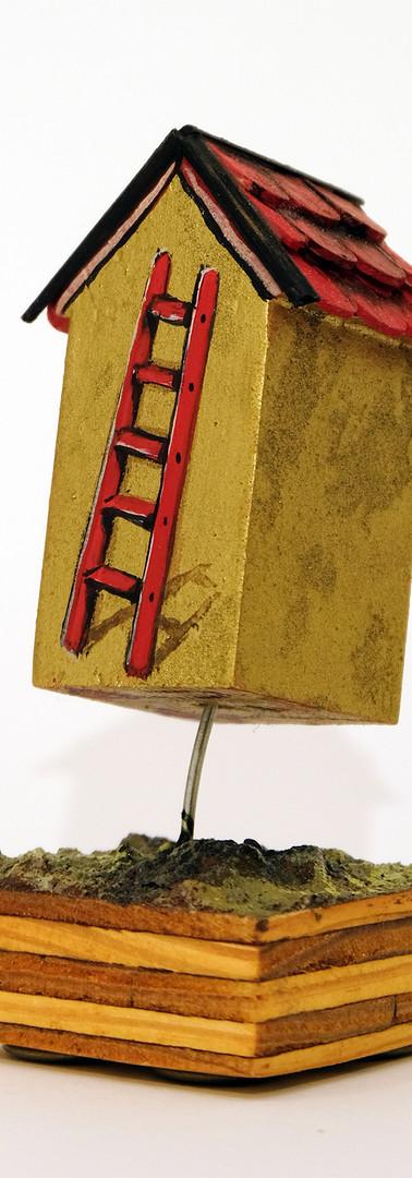 Floating Golden Ladder House 2018