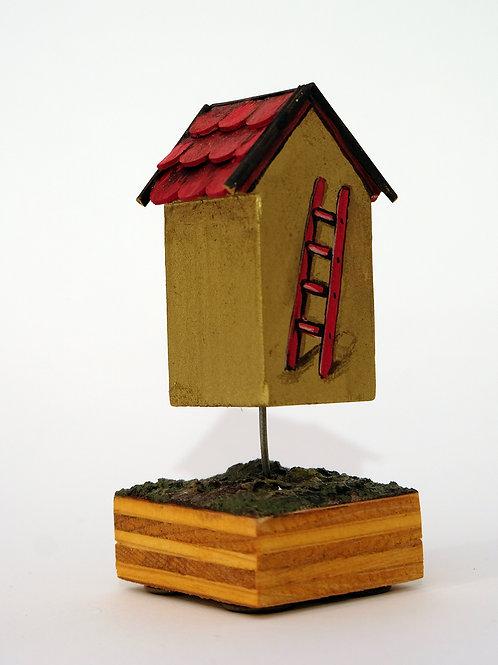 Floating Golden Ladder House # 9/25