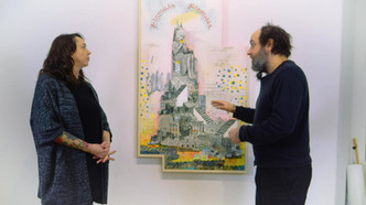 Discussion with Luisa Catucci at her gallery in Berlin 2019