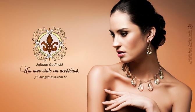 Lilian Queiroz fotografa para coleção de jóias do design Juliano Gudinski