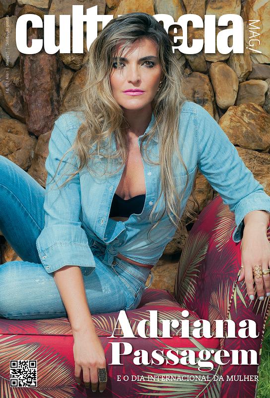 Adriana Passagem é nossa Mulher de Março