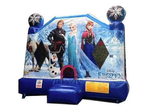 Frozen Jumping Castle