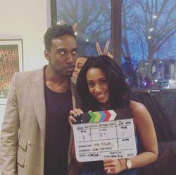 W R A P P E D ✌😀 that's a wrap on Season 2!! 🙌🎬🌃🎉 #HDWGH #HDWGHS2 #filming #actress  #thatsawra