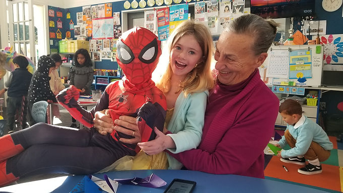 Book Character Parade and Grandparents Day