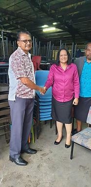 Titirangi School donation to Fiji