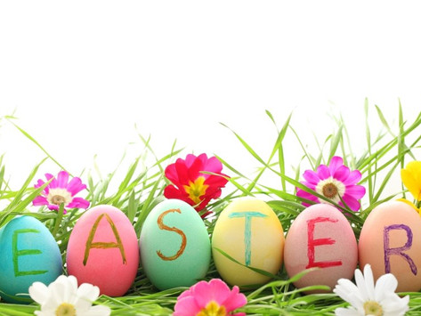 Easter Tuesday, 6th April - School Holiday