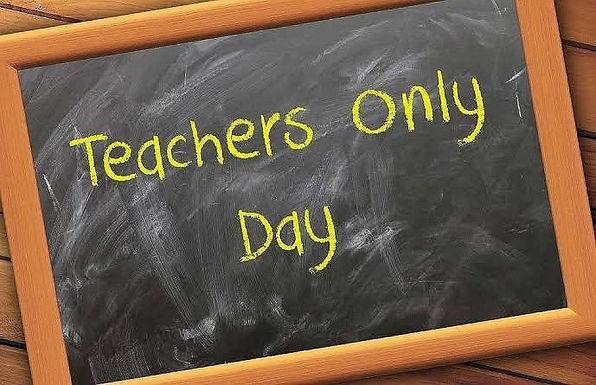 Term 2 Teacher Only Days