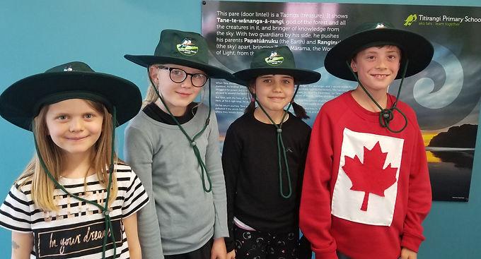 Sun Hats in term 4