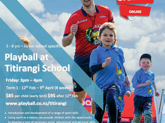 Playball at Titirangi!