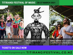 Titirangi Festival of Music - this weekend