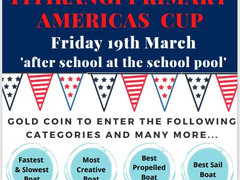 TPS Americas Cup boat race at the school pool!