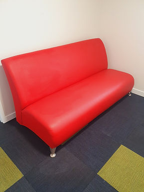 Our Big Red Couch is looking for a new home