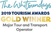 TW Awards Logo.Gold winner. Major Tour a