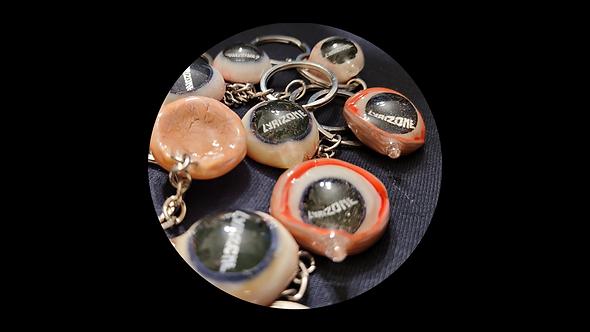 Lyrizone Eye Key Chain