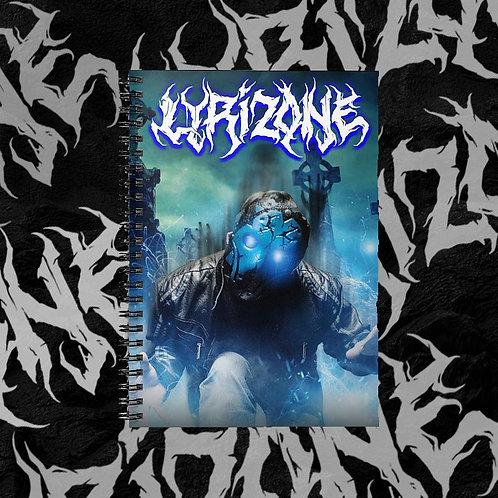 Lyrizone Spiral Notebook