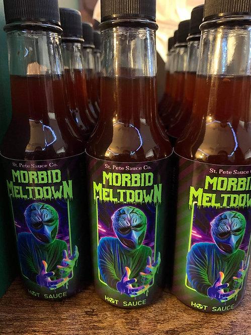 Morbid Meltdown Hot Sauce (Individual Bottle)