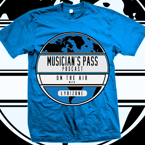 Musician's Pass Podcast (Tee Shirt)