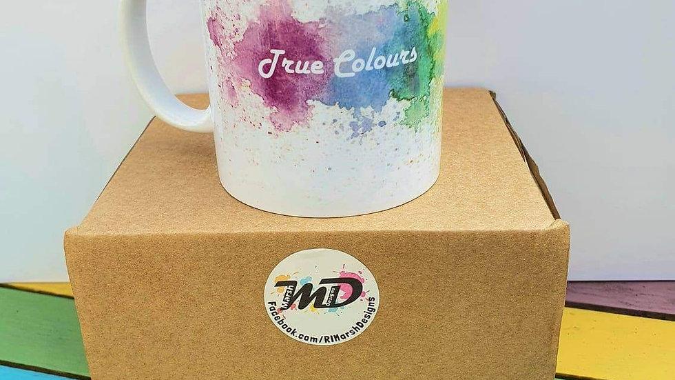 True Colours mug